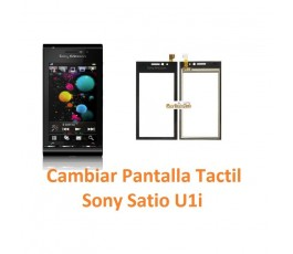Cambiar Pantalla Táctil Sony Ericsson Satio U1i - Imagen 1