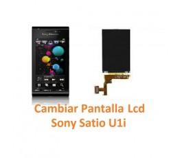 Cambiar Pantalla Lcd Display Sony Ericsson Satio U1i - Imagen 1