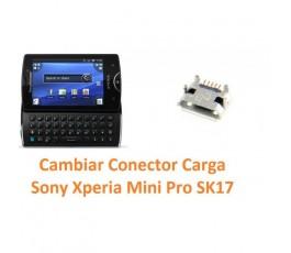 Cambiar Conector Carga Sony Xperia Mini Pro SK17 - Imagen 1