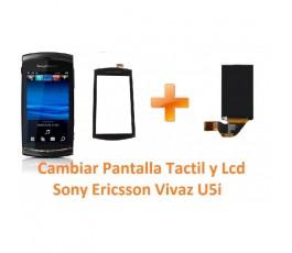 Cambiar Pantalla Táctil y Lcd Display Sony Ericsson Vivaz U5i - Imagen 1