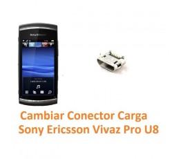 Cambiar Conector Carga Sony Ericsson Vivaz Pro U8 U8i - Imagen 1