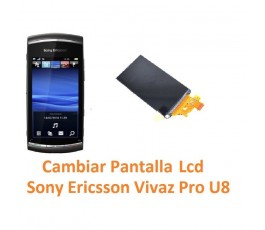 Cambiar Pantalla Lcd Display Sony Ericsson Vivaz Pro U8 U8i - Imagen 1