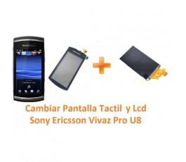 Cambiar Pantalla Táctil y Lcd Sony Ericsson Vivaz Pro U8 U8i - Imagen 1