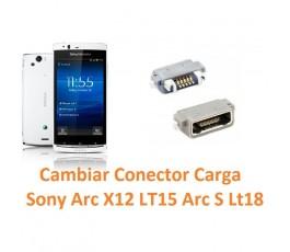 Cambiar Conector Carga Sony Ericsson Arc X12 Lt15 Arc S Lt18 - Imagen 1