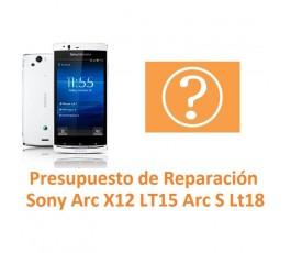 Reparar Sony Ericsson Arc X12 Lt15 Arc S Lt18 - Imagen 1