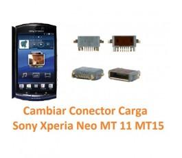 Cambiar Conector Carga Sony Xperia Neo MT11 MT15 - Imagen 1