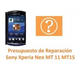 Reparar Sony Xperia Neo MT11 MT15 - Imagen 1