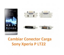 Cambiar Conector Carga Sony Xperia P Lt22 Lt22i - Imagen 1