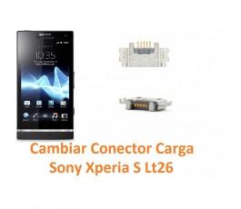 Cambiar Conector Carga Sony Xperia S Lt26 Lt26i - Imagen 1
