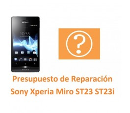 Reparar Sony Xperia Miro ST23 ST23i - Imagen 1