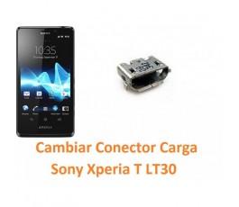 Cambiar Conector Carga Sony Xperia T Lt30 Lt30p - Imagen 1