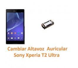 Cambiar Auricular Altavoz Sony Xperia T2 Ultra XM50h D5303 D5306 D5322 - Imagen 1