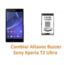 Cambiar Altavoz Buzzer Sony Xperia T2 Ultra XM50h D5303 D5306 D5322 - Imagen 1