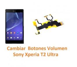 Cambiar Botones Volumen Sony Xperia T2 Ultra XM50h D5303 D5306 D5322 - Imagen 1