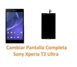 Cambiar Pantalla Completa Sony Xperia T2 Ultra XM50h D5303 D5306 D5322 - Imagen 1