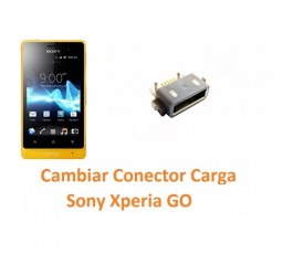 Cambiar Conector Carga Sony Xperia Go St27 St27i - Imagen 1