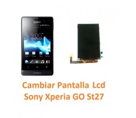 Cambiar Pantalla Lcd Sony Xperia Go St27 St27i - Imagen 1