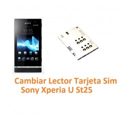 Cambiar Lector Tarjeta Sim Sony Xperia U St25 - Imagen 1