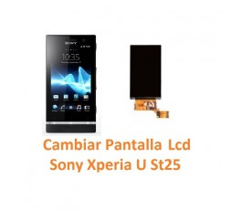 Cambiar Pantalla Lcd Display Sony Xperia U St25 - Imagen 1