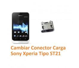Cambiar Conector Carga Sony Xperia Tipo ST21 - Imagen 1