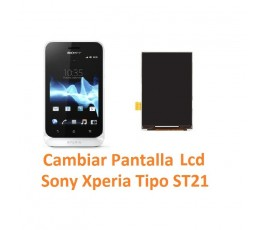Cambiar Pantalla Lcd Sony Xperia Tipo ST21 - Imagen 1