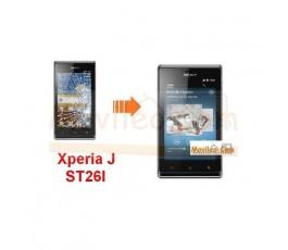 Cambiar la pantalla tactil (cristal) de sony xperia J st26i - Imagen 1
