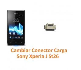 Cambiar Conector Carga Sony Xperia J St26 - Imagen 1