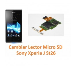 Cambiar Lector Micro SD Sony Xperia J St26 - Imagen 1
