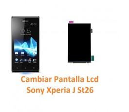 Cambiar Pantalla Lcd Sony Xperia J St26 - Imagen 1