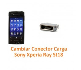 Cambiar Conector Carga Sony Xperia Ray St18 St18i - Imagen 1