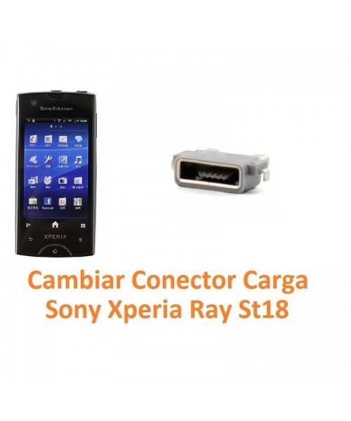Cambiar Conector Carga Sony Xperia Ray St18 St18i - Imagen 1