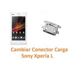 Cambiar Conector Carga Sony Xperia L C2104 C2105 S36H - Imagen 1