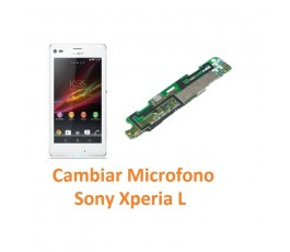 Cambiar Micrófono Sony Xperia L C2104 C2105 S36H - Imagen 1