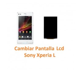 Cambiar Pantalla Lcd Display Sony Xperia L C2104 C2105 S36H - Imagen 1