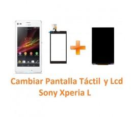 Cambiar Pantalla Táctil y Lcd Sony Xperia L C2104 C2105 S36H - Imagen 1