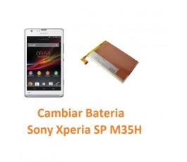 Cambiar Batería Sony Xperia SP M35H C5302 C5303 C5306 - Imagen 1