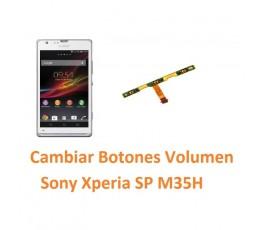 Cambiar Botones Volumen Sony Xperia SP M35H C5302 C5303 C5306 - Imagen 1