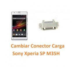 Cambiar Conector Carga Sony Xperia SP M35H C5302 C5303 C5306 - Imagen 1
