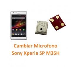 Cambiar Micrófono Sony Xperia SP M35H C5302 C5303 C5306 - Imagen 1