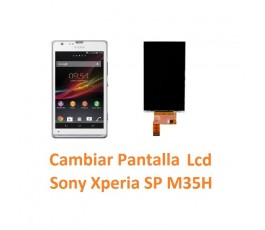 Cambiar Pantalla Lcd Sony Xperia SP M35H C5302 C5303 C5306 - Imagen 1