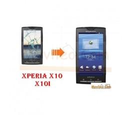 Cambiar la pantalla tactil (cristal) de Sony Ericsson X10 - Imagen 1