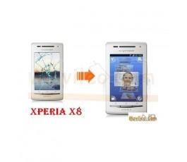 Cambiar la pantalla tactil (cristal) de Sony Ericsson X8 E15I - Imagen 1