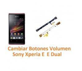 Cambiar Botones Volumen Sony Xperia E C1504 C1505 E Dual C1604 C1605 - Imagen 1