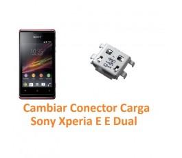 Cambiar Conector Carga Sony Xperia E C1504 C1505 E Dual C1604 C1605 - Imagen 1