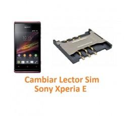 Cambiar Lector Tarjeta Sim Sony Xperia E C1504 C1505 - Imagen 1