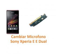 Cambiar Micrófono Sony Xperia E C1504 C1505 E Dual C1604 C1605 - Imagen 1
