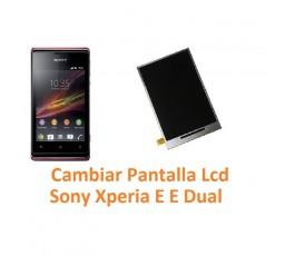 Cambiar Pantalla Lcd Sony Xperia E C1504 C1505 E Dual C1604 C1605 - Imagen 1
