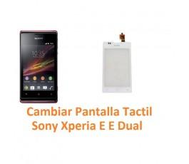 Cambiar Pantalla Táctil Sony Xperia E C1504 C1505 E Dual C1604 C1605 - Imagen 1