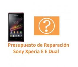 Reparar Sony Xperia E C1504 C1505 E Dual C1604 C1605 - Imagen 1