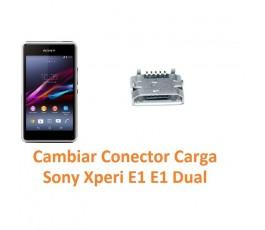 Cambiar Conector Carga Sony Xperia E1 E1 Dual D2004 D2005 D2104 D2105 - Imagen 1